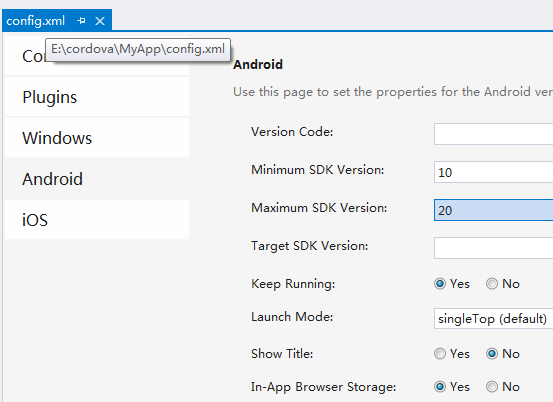 vs2013 cordova Failed to install apk to emulator